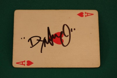 Dynamo Magician – Signed Card
