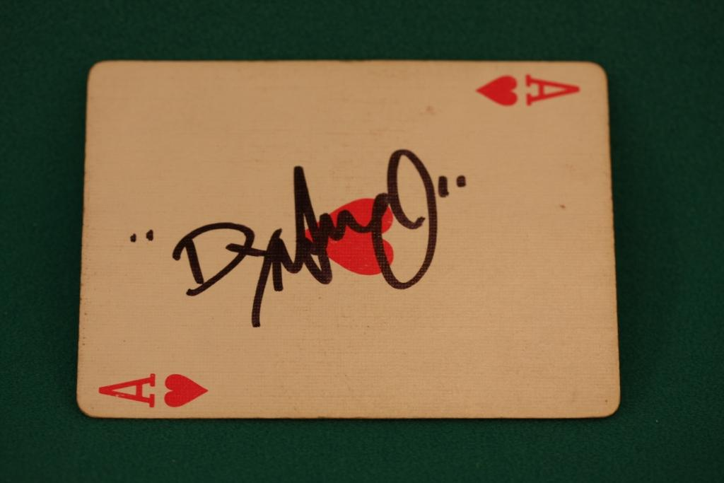 Dynamo Magician - Signed card